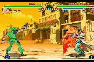 Screenshot Thumbnail / Media File 1 for Jojo's Bizarre Adventure [NTSC-U]